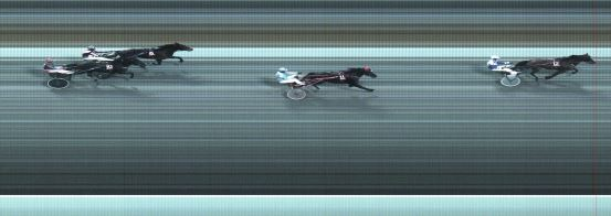 Målfoto for løp 6 på bane BJ den 28.02.2015