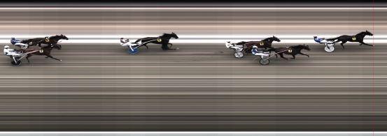 Målfoto for løp 1 på bane BJ den 14.06.2015