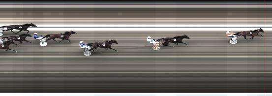 Målfoto for løp 5 på bane BJ den 14.06.2015