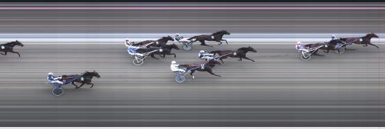 Målfoto for løp 4 på bane BJ den 13.09.2015
