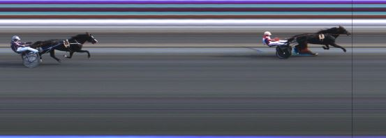 Målfoto for løp 7 på bane JA den 04.07.2015