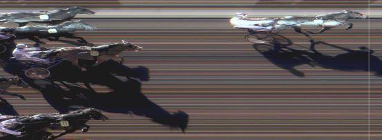 Målfoto for løp 9 på bane MO den 21.03.2015